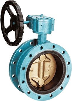 Double Flanged Pattern Valve Design